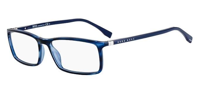 16c2c23978 Amazon.com  Hugo Boss BOSS 0680 N Blue Azure 55 16 145 Men Eyewear ...