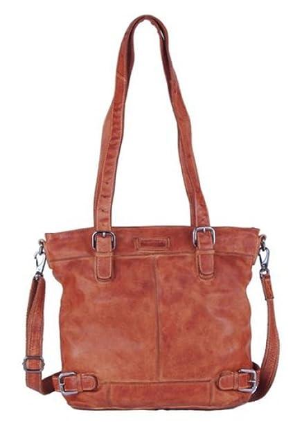 Greenland Femi & Nine Color Shopper Tasche Leder 37 cm light-brown voGJM
