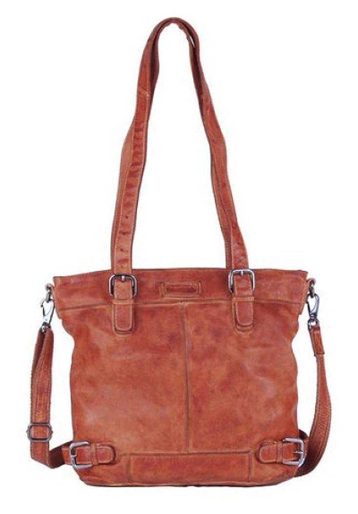 Greenland Femi & Nine Color Shopper Tasche Leder 37 cm