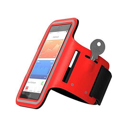 Print on Metal Sports Armband Jogging Smartphone Sport Run Print 12 x 18. Worry Free Wall Installation - Shadow Mount is Included.