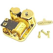 Gold Plated Windup Clockwork DIY Music Box Musical Mechanism Movement Frozen Let it Go
