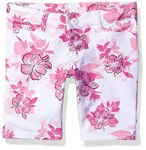 French Toast Little Girls' Skimmer Twill Short, Pink Sachet, 6