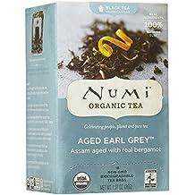 Numi Organic Tea Aged Earl Grey Black Tea, 18 ct