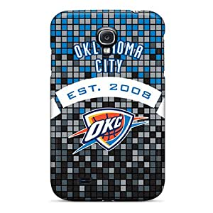Tpu Case Cover Compatible For Galaxy S4/ Hot Case/ Oklahoma City Thunder