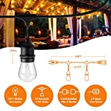 48 FT ADDLON Outdoor String Lights Commercial Grade