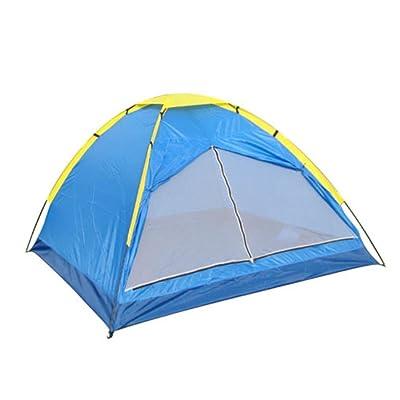 3-4 personnes une couche de tente de camping en plein air imperméable respirant alpinisme tourisme camping multi-personne tentes