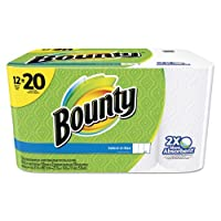 Bounty Select-a-Size Mega Roll Paper Towels, 105 sheets, 12 rolls