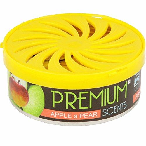 Auto Lufterfrischer Duftdose, bis zu 60 Tage frische Luft, verschiedene Düfte (Apfel-Birne)