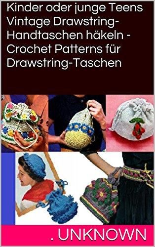 Amazoncom Kinder Oder Junge Teens Vintage Drawstring Handtaschen
