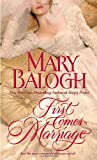 First Comes Marriage, Mary Balogh, 0440244226