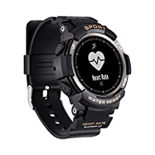 Sports Fitness Bracelet,Bluetooth Smart Wristband Fitness Watch Band Health Activity Tracker Waterproof Smart Watch 【Waterproof Blood Pressure】【 Sleep Monitor】 for iOS & Android
