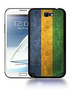 Gabon National Vintage Flag Phone Designs For SamSung Galaxy S6 Case Cover