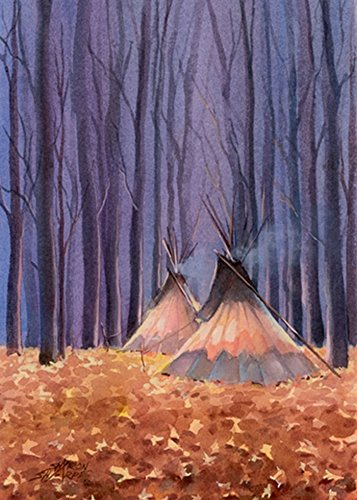 - AUTUMN TIPI LEAVES by SHARON SHARPE