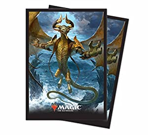 """Ultra Pro Magic: The Gathering Core Set 2019 """"Nicol Bolas, the Arisen Deck Protector Sleeves (80 count)"""
