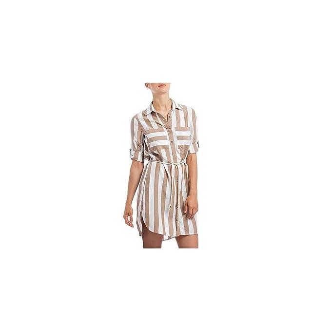 Kocca - Vestito - Donna marrone S  Amazon.it  Abbigliamento bfcfd63668b