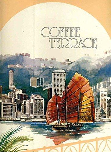 (Coffee Terrace Menu Hyatt Regency Hotel Hong Kong 1980s China)