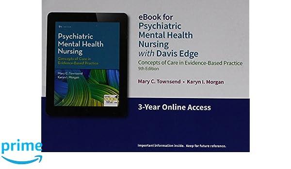 Davis Edge For Psychiatric Mental Health Nursing 9780803668218