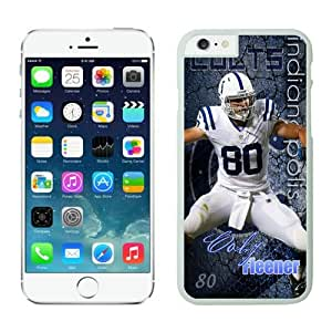 NFL Indianapolis Colts Coby Fleener iPhone 6 Cases White 4.7 Inches NFLIphone6Cases13041