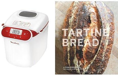 """Panificadora Moulinex y libro """"Tartine Bread"""" (inglés"""