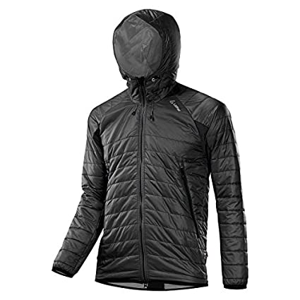dettagliare a5f14 072d2 Loeffler Hooded Giacca Primaloft 60 - Black: Amazon.it ...