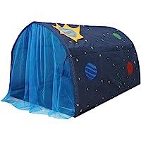 Barntält för flickor pojkar powcansk lektält för barn galax stjärnhimmel lekhus tält barn popup tält med dubbel…