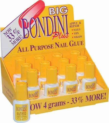 Nail Supplements Big Bondini Plus All Purpose Nail Glue -Size 0.14 oz