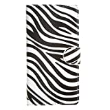 """Acer Liquid Jade Z Case , Leathlux Zebra Style Premium PU Leather Magnetic [Wallet Case] with Stand Function Card Slots Protective Skin Flip Case Cover for Acer Liquid Jade Z (5.0"""")"""