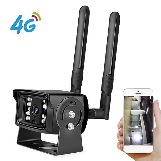 Full HD 1080P 4G Tarjeta SIM Wi-Fi Cámara IP Caja de metal ONVIF ...