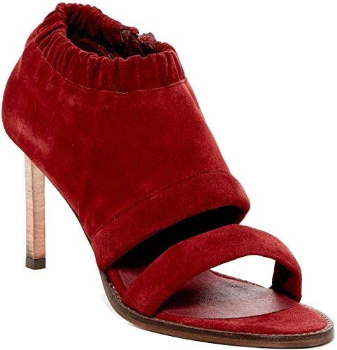 Red Suede Satellite People Heeled Free Sandal Px7Zpw1q