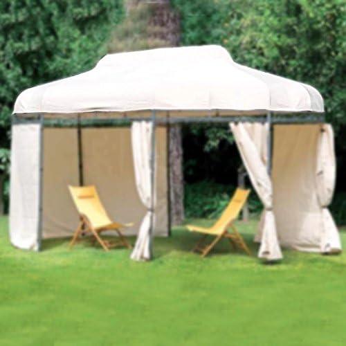 Juego Toallas Laterales de Recambio para Carpa Party 3 x 5 MT de poliéster de jardín: Amazon.es: Jardín