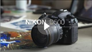 Amazon com : Nikon D500 DX-Format Digital SLR with 16-80mm