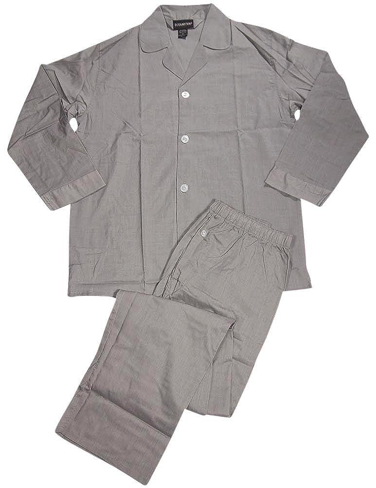 Botony 500 - Big Mens Long Sleeve Woven Pajamas