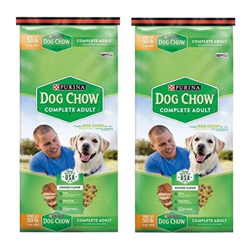 Purina Dog Chow Complete Dog Food Bonus Size, 50 lbs 2 BAGS