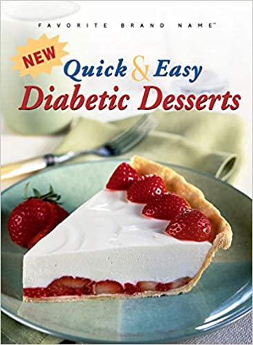 New Quick Easy Diabetic Desserts Publications