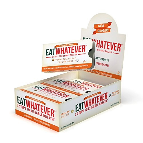 Eatwhatever Breath Freshening System, Ginger, 90 ()