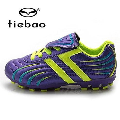 TIEBAO Byency (TM) da calcio professionale per bambini e teenager HG   AG- 202549bf208