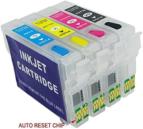 T29 X L Cartuchos Recargables con chip de Auto Reset adecuado para ...