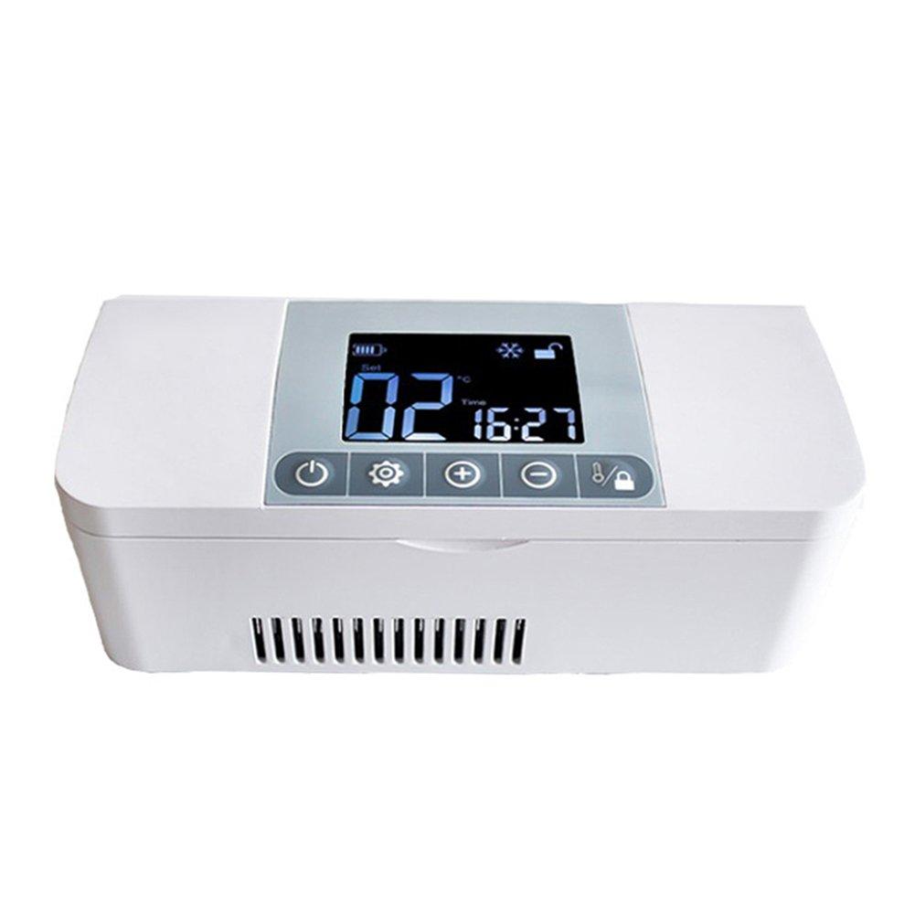 LIQICAI ポータブルインスリン冷蔵庫クーラー高度な温度制御システム車 12V 230V   B07FKQ3WFT