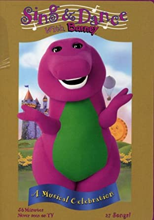 Amazoncom Barney Sing And Dance With Barney Barney Movies Tv