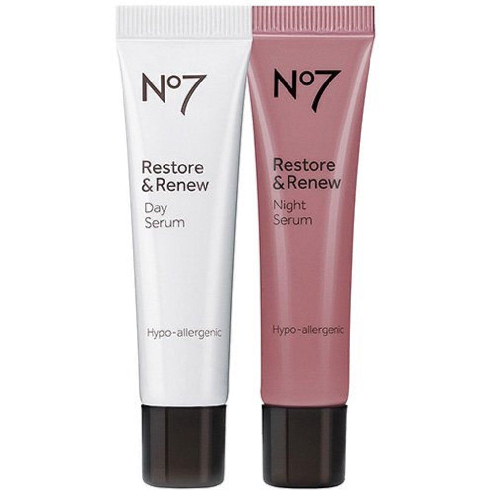 No7 Restore & Renew Day & Night Serum