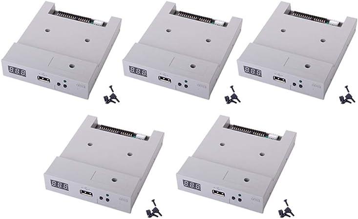 B Blesiya 5 Pcs Emulador de Unidad Disquete Complimentos Fácil Instalación Conveniente Duradero