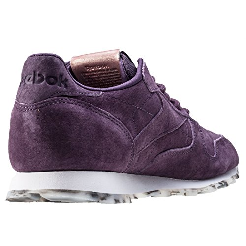 Leather Gold Violett ROSE Bd1520 Baskets Meteorite White Femme Classic WHITE Rose Shimmer METEORITE Reebok 51xvpWn4