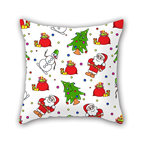 Niceplw Pillowcover Of Christmas 18 X 18 Inches   45 By 45 Cm Best Fit For Dance Room Dinning Room Lounge Girls Couch Gf Twice Sides