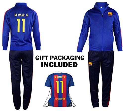 3d9511ef93c3c4 Fan Kitbag Barcelona Neymar Jr  11 Kids Soccer Tracksuit All Youth Sizes ✓  Neymar Jr