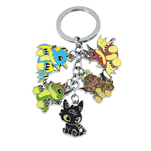 How to Train Your Dragon Keychain Key Ring Disney Movies TV Auto/Boat House (Key Date Walking)
