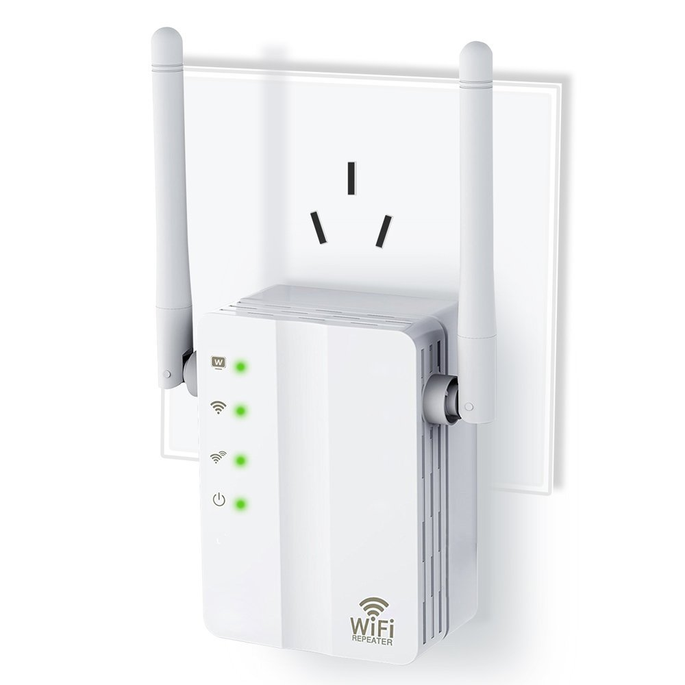 FAST-KING Wireless-n Router Mini 300M Wifi Extender 2.4G Wifi Repeater WiFi Signal Booster Ap with Ethernet Port and WPS Button by FAST-KING