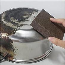 JDgoods_Magic Pot Brush, Sponge Carborundum Brush Kitchen Washing Cleaning Kitchen Cleaner Tool