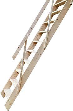 Tuff Concepts Escalera de madera para escalera de estilo atlético, para ahorrar espacio: Amazon.es: Bricolaje y herramientas