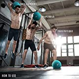 Yes4All Slam Balls 10lbs for Strength and Crossfit