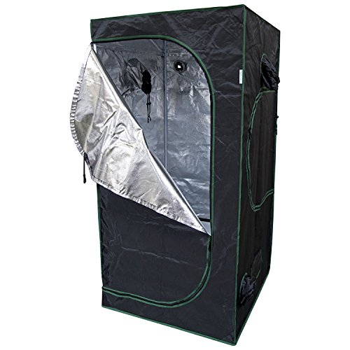Urban Farmer 36x36x72 Reflective Mylar Hydroponic Grow Tent for Indoor Plant Growing